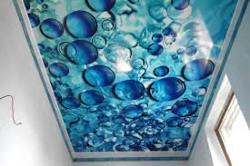 """Потолок с эффектом """"Пузырьки"""""""