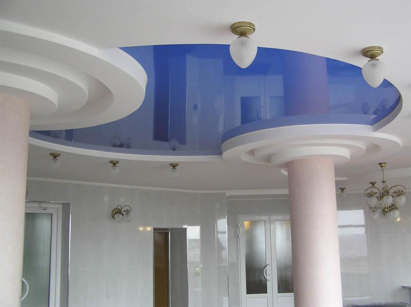 Дизайнерское оформление холла в медицинской клинике