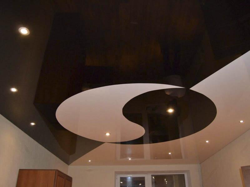Символ даосизма на потолке