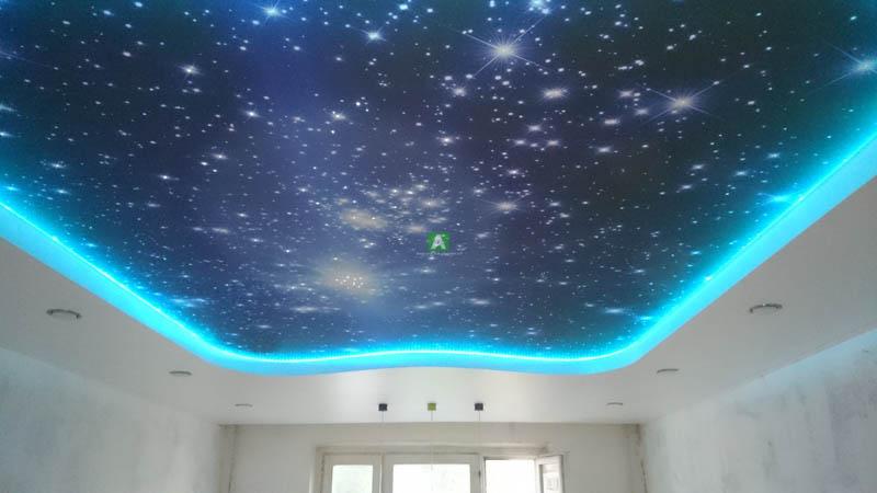 Что такое натяжной потолок