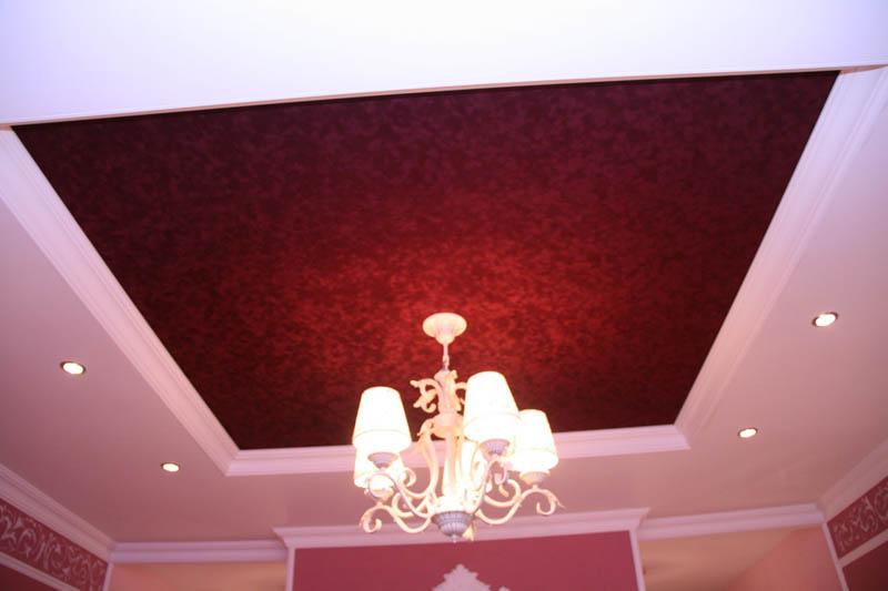 """Потолок с эффектом """"Бархатный"""""""