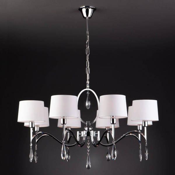 Подвесной светильник на потолке