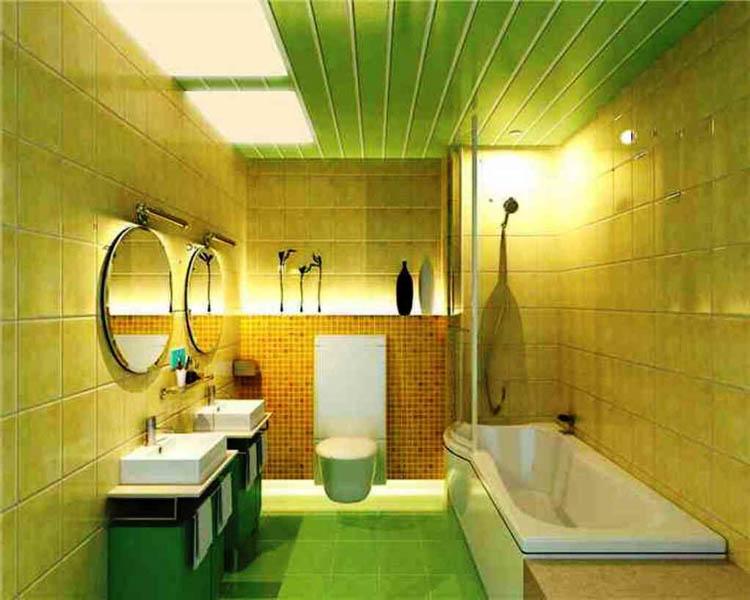 Потолок в ванной:  каким он должен быть