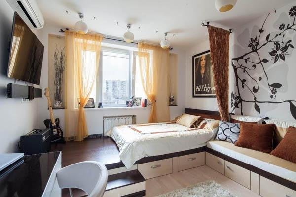 Вариант интерьера квартир