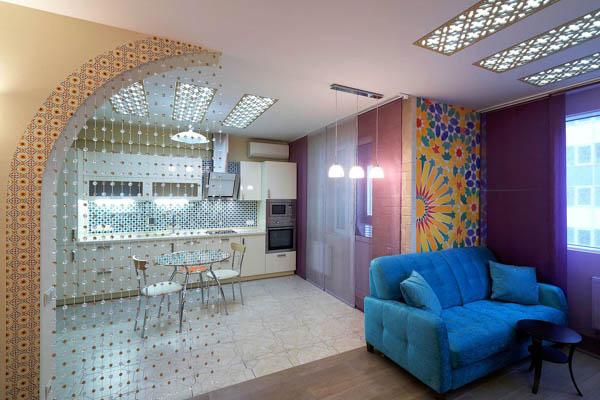 Интерьер комнаты студии