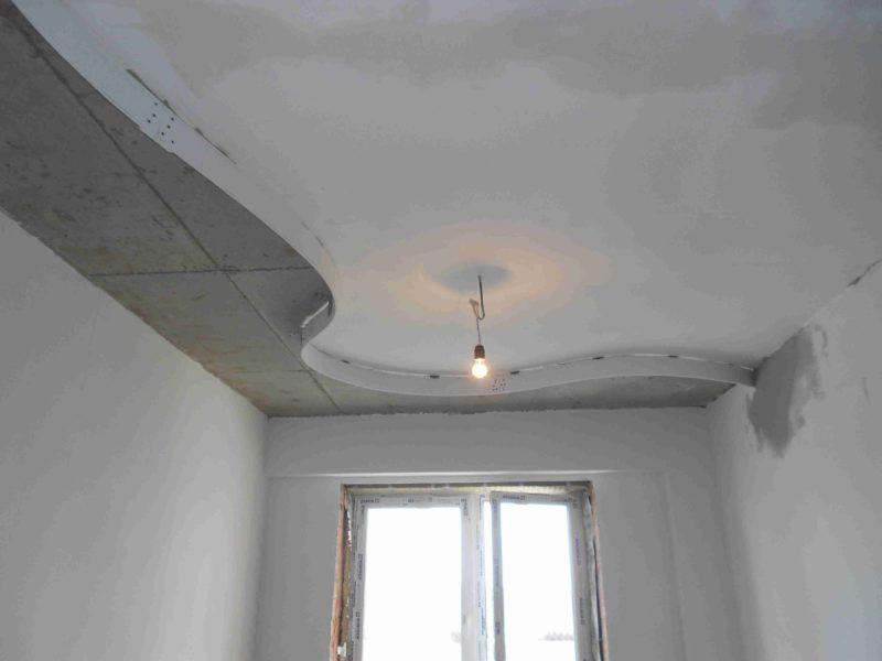 Двухуровневый потолок, подготовка