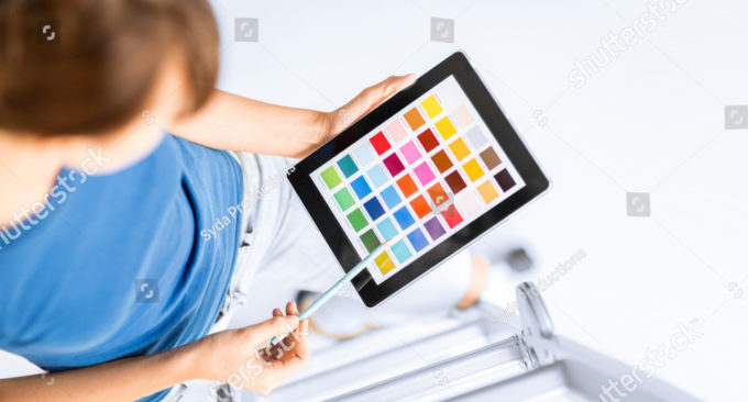 палитра цветом в каталоге