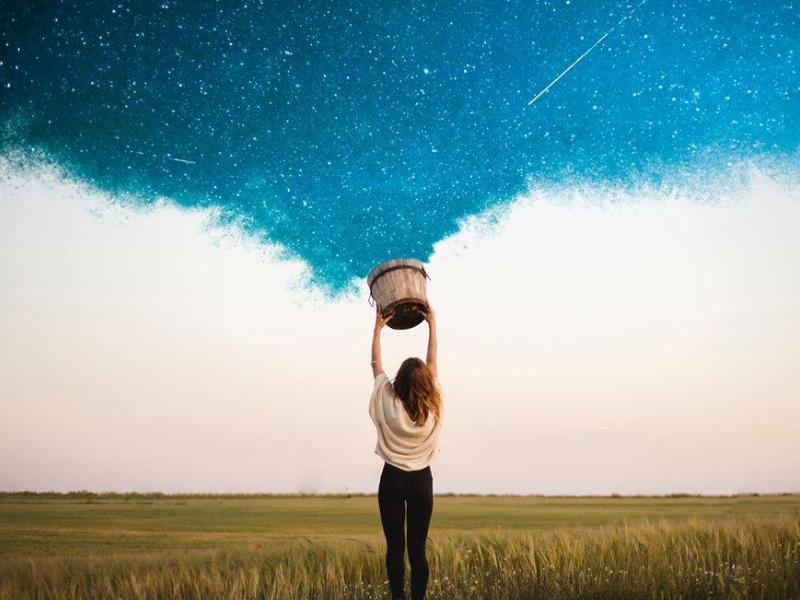 Небо фантазия