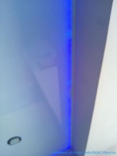 Синяя диодная подсветка