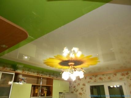 Кухня с подсолнухом