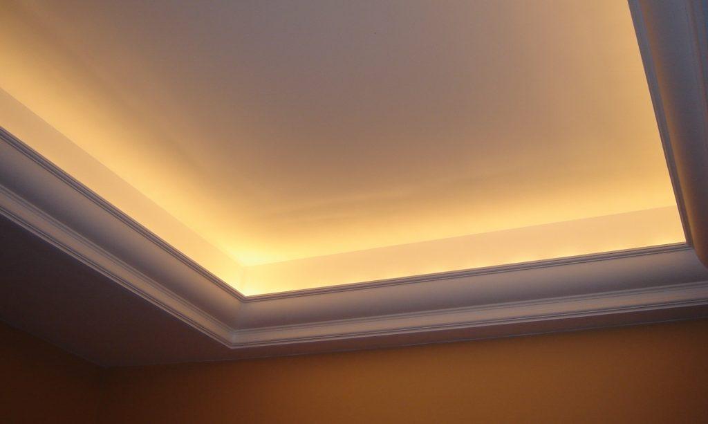 Светопрозрачный потолок с подсветкой