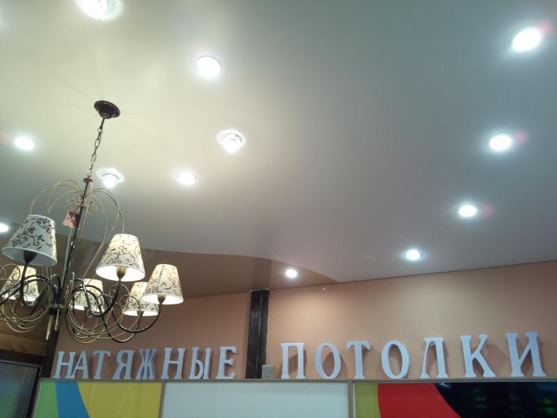 Офис фирмы по натяжным потолкам