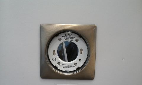 Светильник для натяжного потолка 10